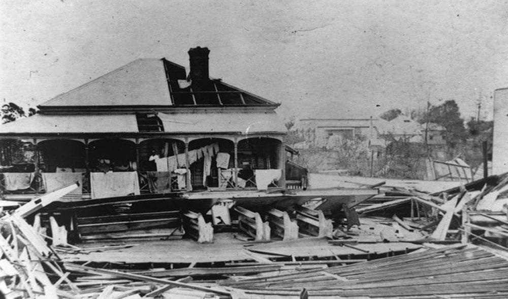 Cyclone Mackay 1918